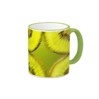 Kiwi Abstract Mug