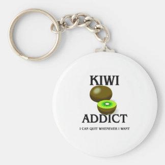 Kiwi Addict Key Ring
