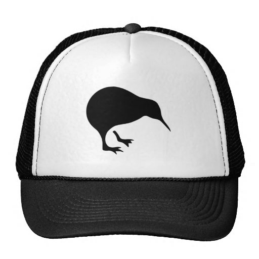 Kiwi All blacks and All Whites New Zealand gear Mesh Hat