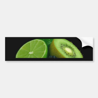 Kiwi and lime bumper stickers
