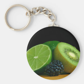 Kiwi and lime key ring