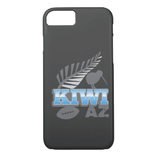 KIWI AZ rugby bird and silver fern iPhone 8/7 Case