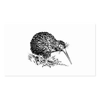 Kiwi Bird Art Business Card Template