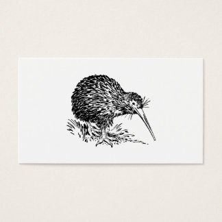 Kiwi Bird Art Business Card