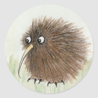 Kiwi Bird Classic Round Sticker