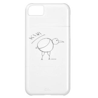 kiwi bird hand drawn design by solidchainwear iPhone 5C case