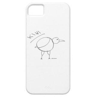 kiwi bird hand drawn design by solidchainwear iPhone 5 case