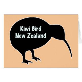 Kiwi Bird - New Zealand Card