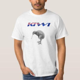 Kiwi Bird New Zealand flag logo gifts T-Shirt