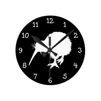 Kiwi Bird Round Clock