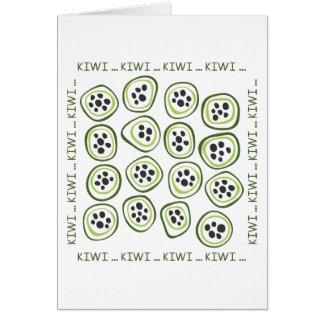 Kiwi Greeting Card