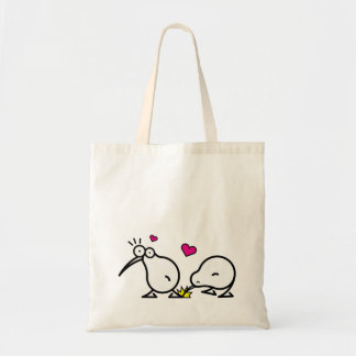 Kiwi Couple Tote Bag