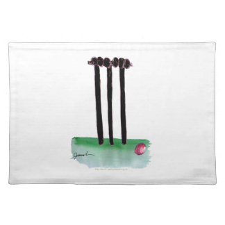 kiwi cricket bails, tony fernandes placemat