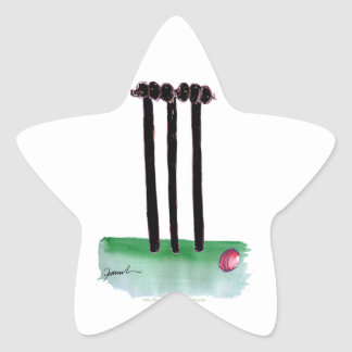 kiwi cricket bails, tony fernandes star sticker