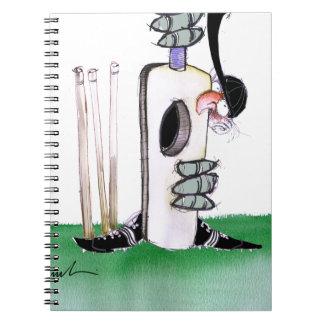 kiwi cricket batting lesson, tony fernandes notebook
