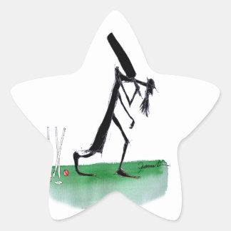 kiwi cricket old father time, tony fernandes star sticker