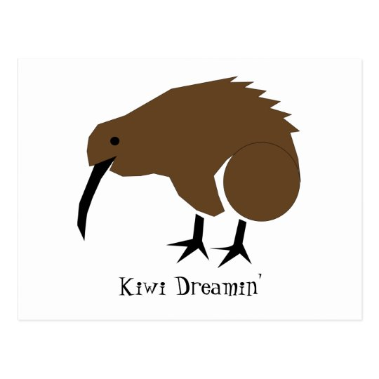 Kiwi Dreamin' Postcard