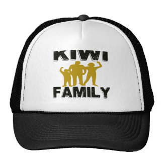Kiwi Family Hats