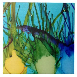 Kiwi Fish Art Tile