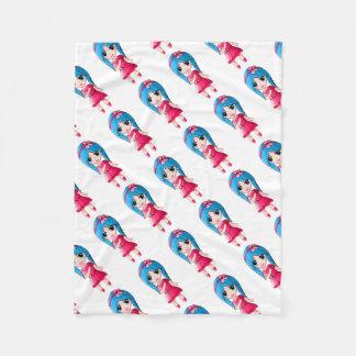 Kiwi Fleece Blanket