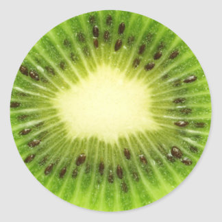 Kiwi Fresh Classic Round Sticker