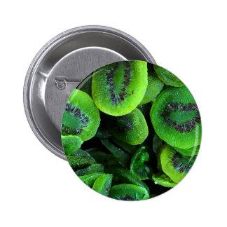 Kiwi Fruit 6 Cm Round Badge