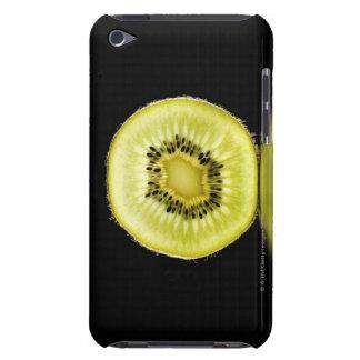 Kiwi,Fruit,Black background iPod Touch Cases