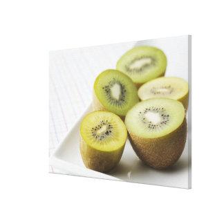 Kiwi fruit canvas print