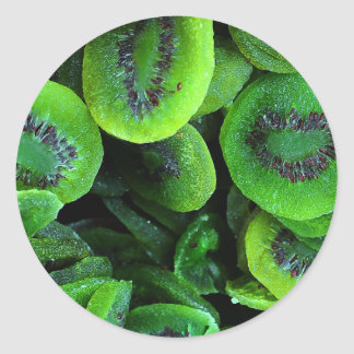 Kiwi Fruit Classic Round Sticker