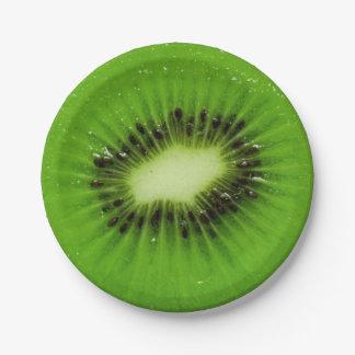 Kiwi Fruit Fresh Slice - Paper Plate