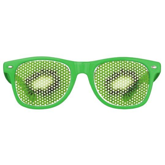 Kiwi Fruit Fresh Slice - Sunglasses Party Shade