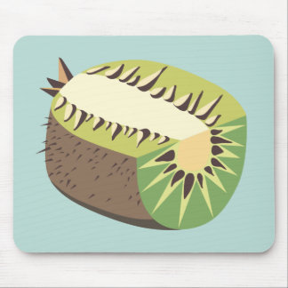 Kiwi fruit illustration mouse mat