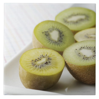 Kiwi fruit large square tile