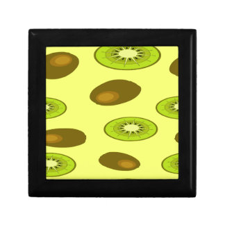 Kiwi fruit pattern gift box