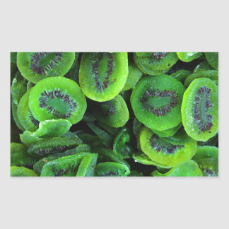 Kiwi Fruit Rectangular Sticker