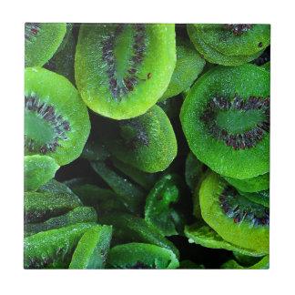 Kiwi Fruit Small Square Tile