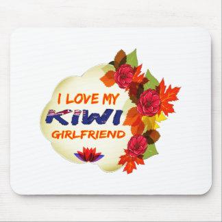 Kiwi Girlfriend designs Mousepads