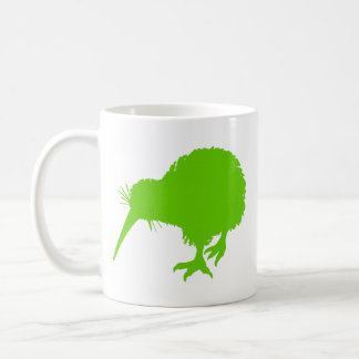 Kiwi Green Bird Coffee Mug
