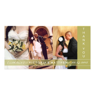 KIWI GREEN UNION | WEDDING THANK YOU CARD PHOTO CARDS