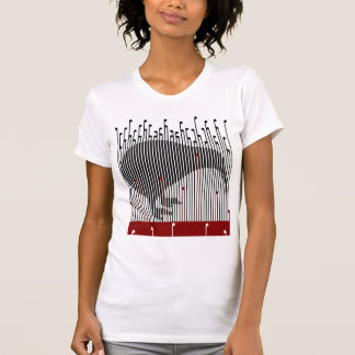 Kiwi in the Raupo, BULRUSH T-Shirt