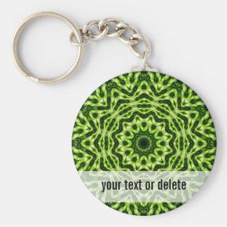 Kiwi Kaleidoscope Key Ring