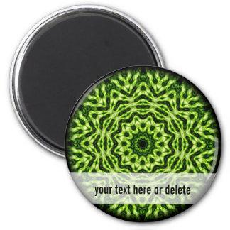 Kiwi Kaleidoscope Magnet