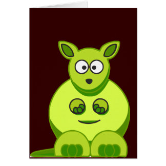 Kiwi Kangaroo Card
