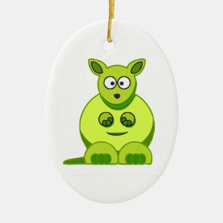 Kiwi Kangaroo Christmas Ornament