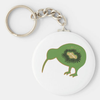 kiwi nz kiwifruit key ring