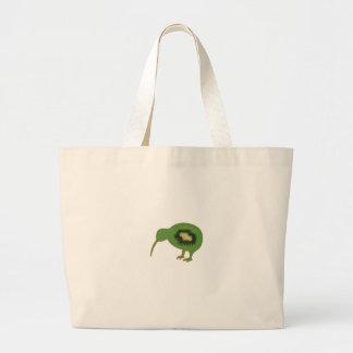 kiwi nz kiwifruit large tote bag
