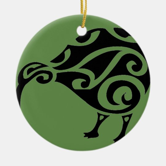KIWI of AOTEAROA new zealand Christmas Ornament