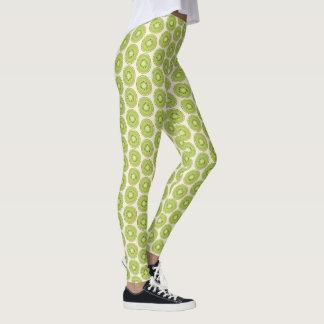 Kiwi Pattern Leggings
