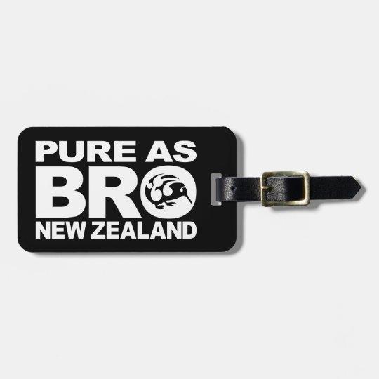 Kiwi, Pure New Zealand Luggage Tag