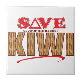 Kiwi Save Small Square Tile